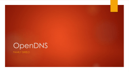 OpenDNS