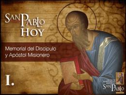 SAN PABLO HOY – (Descargar PowerPoint)