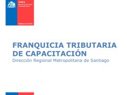 Presentación Franquicia Tributaria 2014.