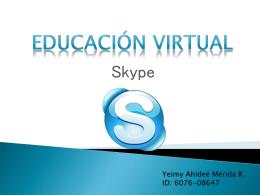 EDUCACIÓN VIRTUAL_YEIMY MÉRIDA