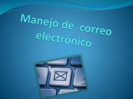Manejo de correo electrónico