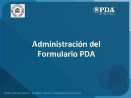 Descargar - PDA Behavioral Assessment