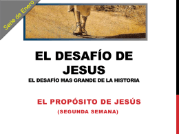El Desafío de Jesús 2 – Power Point