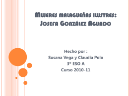 Josefa González Aguado
