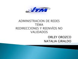administracion de redes tema redirecciones y