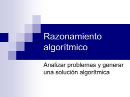 Introducción a Algoritmos