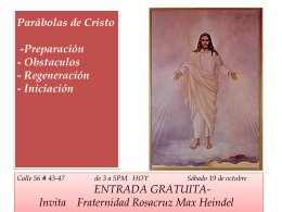 Las Parábolas de Cristo - The Rosicrucian Fellowship