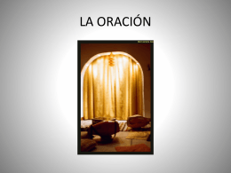 LA ORACIÓN - Officebap.com