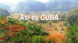 Así es CUBA