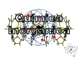 Química Inorgánica.
