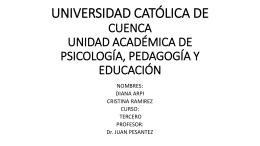 HISTORIA Y TEORÍAS DE LA EDUCACIÓN