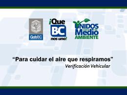 Acciones para Mejorar la Calidad del Aire en Baja California