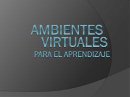 AMBIENTES - Dr. José Eduardo Ferrer Cruz
