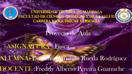 Diapositivas de Fisica - Universidad Técnica de Machala