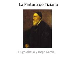 La pintura de Tiziano