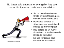 Necesidades en México 2014 - Your Church Can Change The World