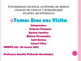 EROTISMO - Portal Académico del CCH