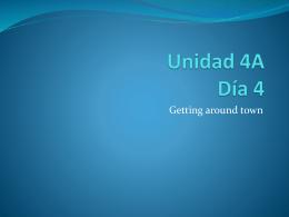 Unidad 4A Día 1