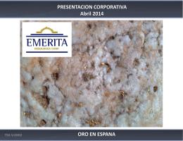 EMO Presentación Corporativa April 2014