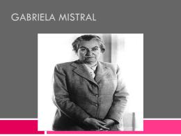 Gabriela Mistral - dgeti quintana roo