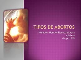 Tipos de Abortos