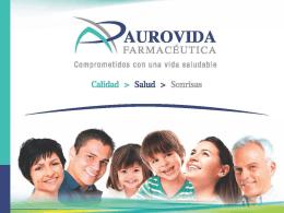 Presentación Laboratorios AUROVIDA MOLAISON MEDICAL