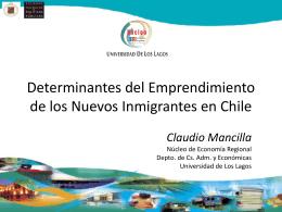 Presentación en 4to. Encuentro - Sociedad Chilena de Políticas