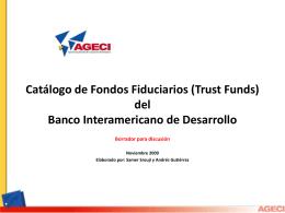 Catalogo Fondos Fiduciarios V.1