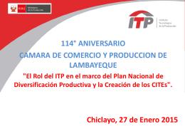 Presentación de PowerPoint - Cámara de Comercio y Producción