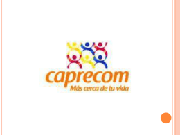 caso caprecom - Administracionunipamplona2011