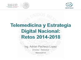 Telemedicina y Estrategia Digital Nacional