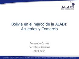 Acuerdos y Comercio - Embajada de Bolivia en Uruguay