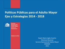 políticas públicas de protección para el adulto mayor