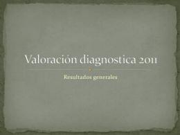 Valoración diagnostica