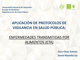 ETA SALUD PUBLICA - Universidad Industrial de Santander