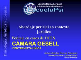 La Entrevista Única - Escuela Iberoamericana de Psicología