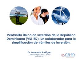 5.0 Presentation SVC-3 - Ministerio de Administración Pública