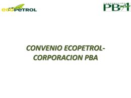 Convenios Ecopetrol