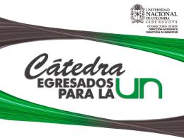 Presentación - Universidad Nacional de Colombia