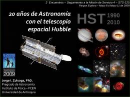 HST-20-Explora2009 - Pregrado de Astronomía
