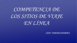 COMPETENCIA DE LOS VIAJES EN LINEA - Over-blog
