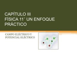 CAPÍTULO III FÍSICA 11* UN ENFOQUE PRÁCTICO