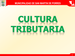 ¿que son los tributos municipales?