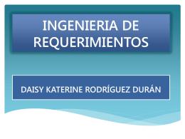 INGENIERIA DE REQUERIMIENTOS.