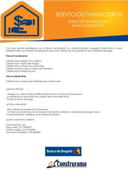 SERVICIOS-FINANCIEROS- Banco de Bogotá.