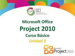 Microsoft Project 2010 Tipos de Costos Recurso tipo costo