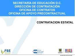 Contratación - Ley de Garantías