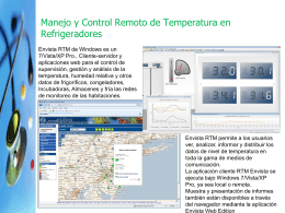 Envista RTM Refrigerators Temperature Manager