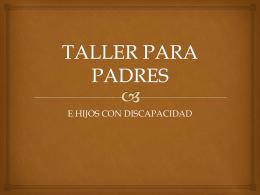 TALLER PARA PADRES (626198)