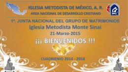 Presentación de PowerPoint - Iglesia Metodista de México